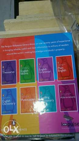 A collection of English books