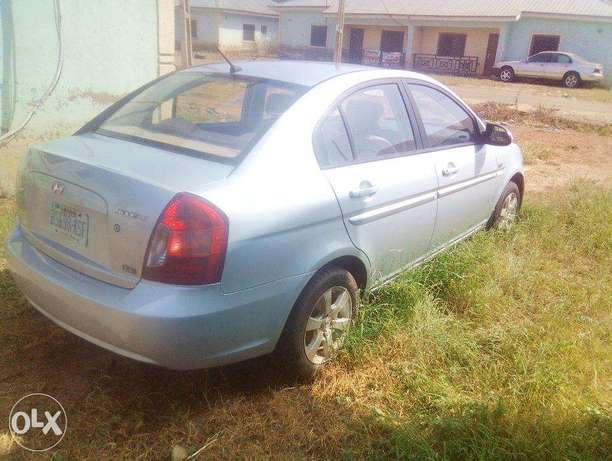 Very Clean Hyundai Accent 2008 for urgent sale. cool a/c Buy and Drive Abuja - image 2
