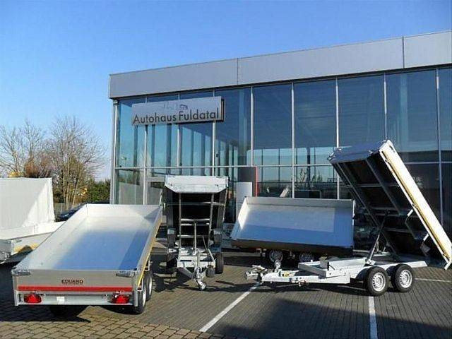 Eduard Neu|Dreiseiten Kipper|2700kg|310x160cm|E-Pumpe| - 2019