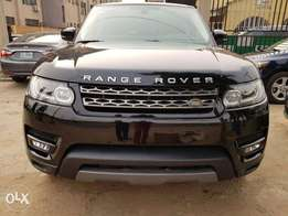 RANGE ROVER SPORT 2016 Model Black Colour