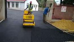 Tar surface and paving from R50