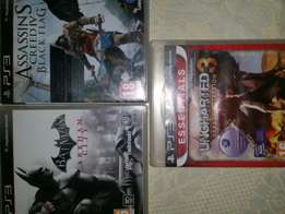 3xPS3 Games all For R400