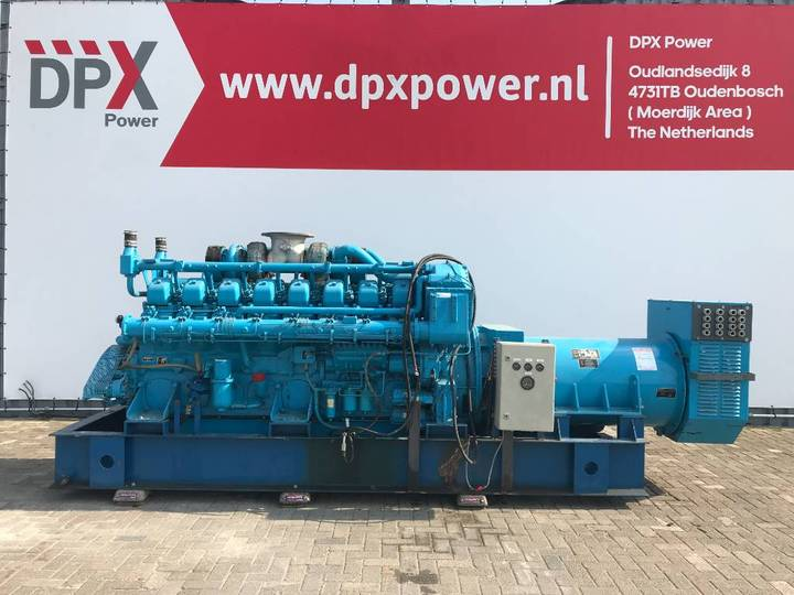 Mitsubishi S16NPTA - 1.000 kVA Generator - DPX-11723 - 1989