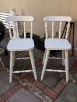 Pair of bar chairs