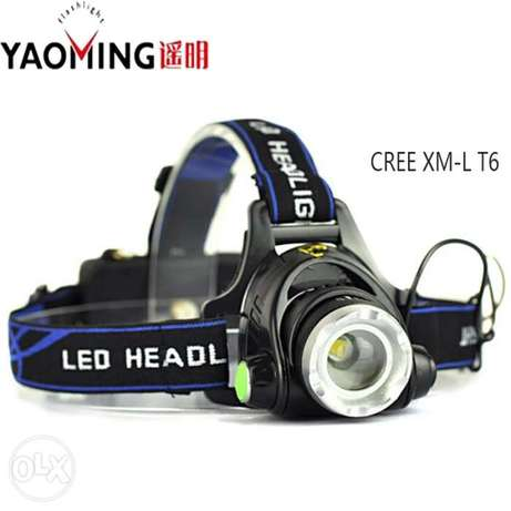 High Power 18650 Headlamp 1800LM CREE XM-L T6 LED Bicycle Camping