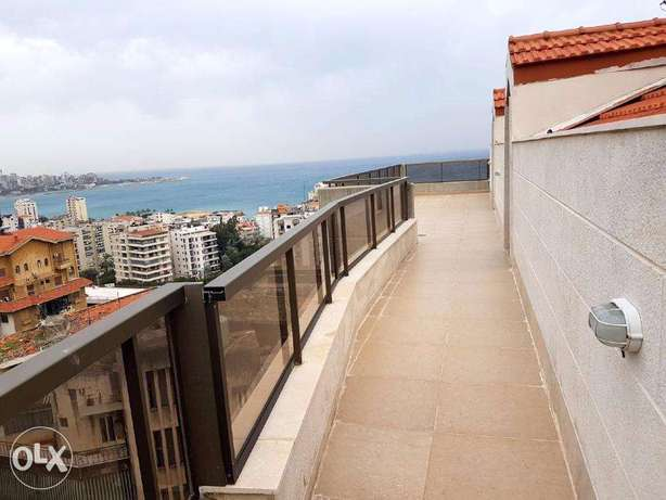 Duplex for sale in Haret Sakher with 120 m2 terrace (sea view)