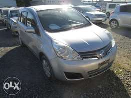 Nissan Note Year 2011 Model Automatic Transmission 2WD Silver Color