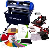 Sublimation Package with Plotter & 5 Combo Heat Press at Ksh 95000/-