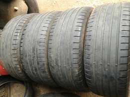 235-50R18 good year tyres for sale
