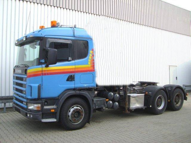Scania 144G 530 6x4 144G 530 6x4 Standheizung/Klima/eFH. - 1999