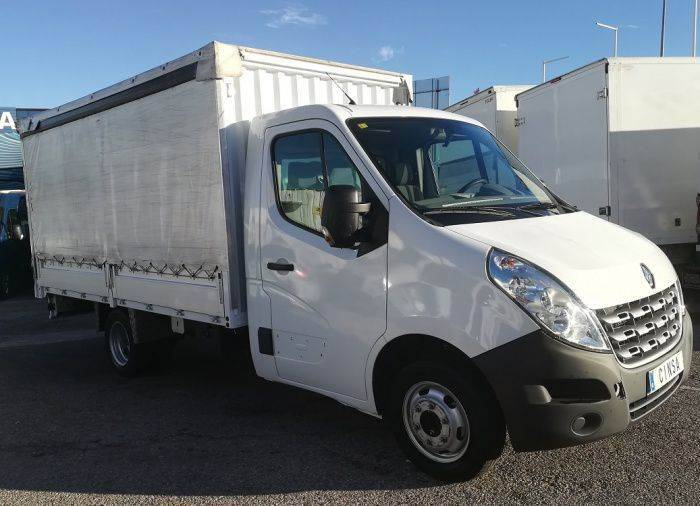 Renault Master Caja Abierta Lonas 125 Cv - 2014