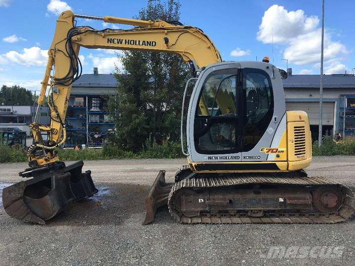 New Holland Kobelco E70sr - 2006