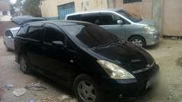 Toyota wish kbl original paint accident free 740k
