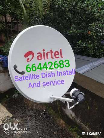 satellite dish fixing and service