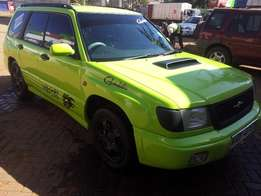 Green Subaru Forester Sports with Full Music System and Lights 600k