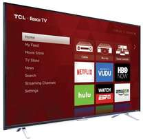 new brand 65 inch tcl smart tv,youtube,facebook,wifi in cbd shop call