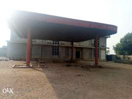 Filling Station with Plaza and Offices For Sale in Airport Road, Lugbe