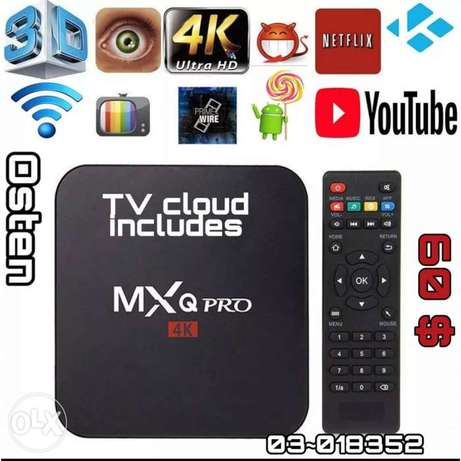 Set-top boxs MXQ pro Android Tv box 4k 1G 8G RK3229 Smart BOX Android