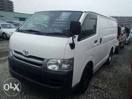 TOYOTA / HIACE VAN CHASSIS # KDH201-801 year 2009