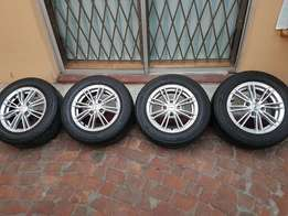 TSW 14inch Mags with Tyres