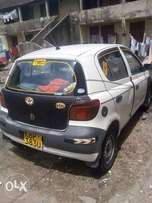 Very well maintained Toyota Vitz KBP for sale at Mombasa Island