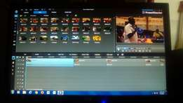Video editing and photography