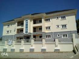 Newly service 3bedrm block of flats to let in wuse.