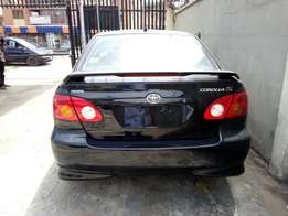 Super clean tokunbo Toyota corolla with sport for sale.