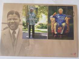 Nelson Mandela First day cover.90th Birthday FDC new