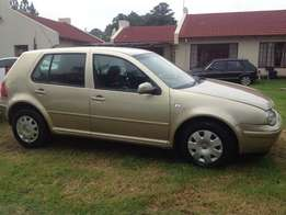 2002 VW Golf 4 1.6i, R52 000 negotiable