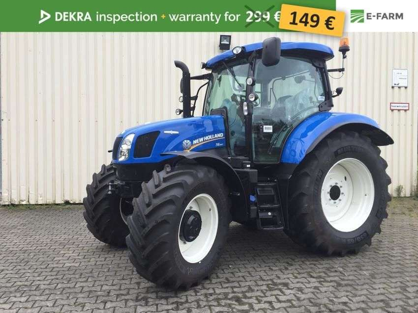 New Holland t6.160 ac - 2017