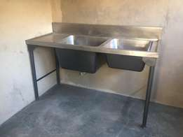 Deep catering sink