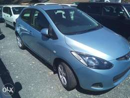 Mazda Demio 1300cc KCP 2010 Light Blue