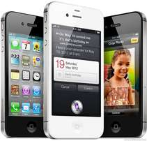 New Apple iPhone 4S, 16GB (Black/ White) Free Delivery