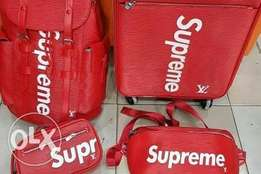 Original red supreme bags