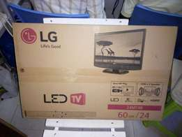 Lg 24 inches led brand new tv