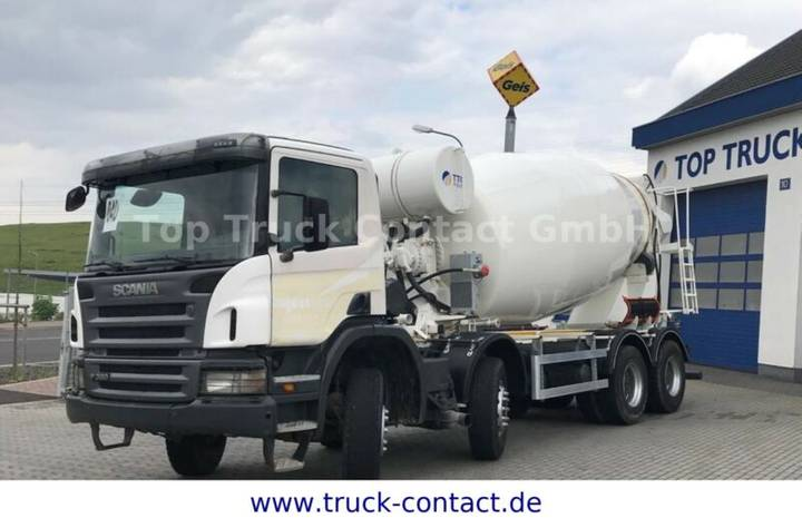 Scania P380 8x4 - manual gearbox - 2011