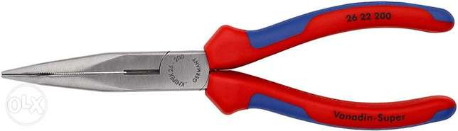 KNIPEX Snipe Nose Side Cutting Pliers (Stork Beak Pliers) (200 mm) 26