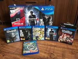 Arrived in our store bn PS4 1TB Slim boxed with games