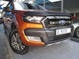 2016 Ford Ranger 3.2 Hi rider Wildtrack Automatic