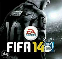 Fifa 14 pc with Fifa 18 graphics and squad