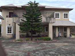6bedroom duplex+3BQ+3 palour+large compound for sale at ajah