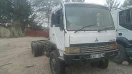 Mitsubishi fuso double diff ten wheeler with for sale