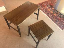 2 x laminated top Coffee Tables