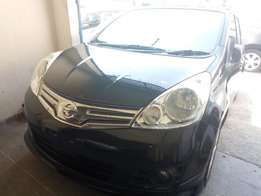 New nissan Note black in colour