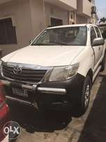 Toyota Hilux with lower than 20k mileage.