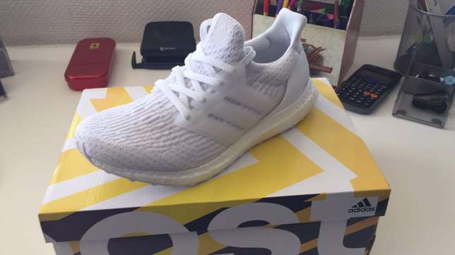Adidas Ultra Boost 3.0 Triple while UK8 Sandton - image 3