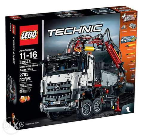 للبيع Lego technic (42043 ) mercedes-benz arocs 3245