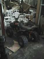 2 quad bikes 150cc in good condition