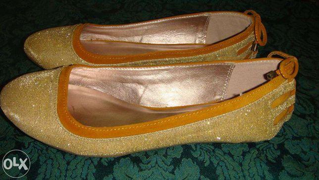e36014625597 Очень красивые золотистые балетки Qupid: 350 грн. - Женская обувь ...